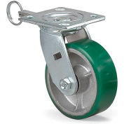 "Economical Casters - Rigid - 8""Dia.X2""W Polyurethane Wheel"
