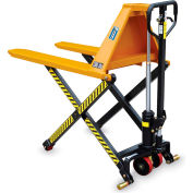 Hercules Manual High Lift Pallet Positioner Pallet Truck - 3300-Lb. Capacity - 21X44-1/2""