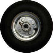 "Full-Pneumatic Tires - 8""Dia.X2-1/2""W Wheel - Black"