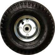 "Full-Pneumatic Tires - 10""Dia.X4""W Wheel - Black"