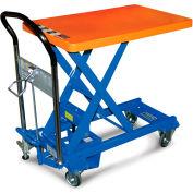 Southworth Dandy Lift Mobile Scissor Lift Tables - 1100-Lb. Capacity