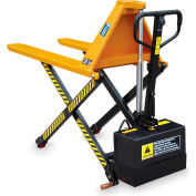 Hercules Battery-Powerred High Lift Pallet Positioner Pallet Truck - 3300-Lb. Capacity - 21X44-1/2""