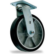 "Mold-On Casters - Swivel - 6""Dia.X2""W Wheel"