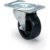 """Dolly Replacement Casters - 3""""Dia.X1-1/4""""W Polyolefin Wheel - 225-Lb. Capacity"""