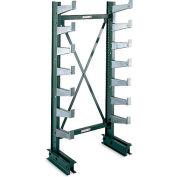 "Jarke Quiktree Light-Industrial Grade Cantilever Rack - 72X21X84"" - Single-Sided Column -"