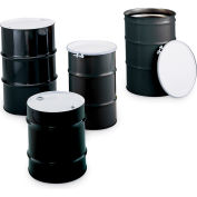 Skolnik Closed-Head Carbon Steel Drums - Closed-Head Drums - 10-Gal. Capacity