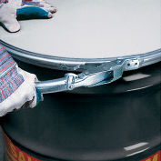 Skolnik Carbon Steel Drums Open-Head Drums Lever Lock Closure - 55-Gal. Cap.- 5.1/1.2/1.2 Mm Thick