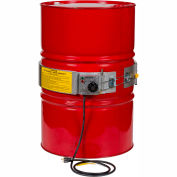 Expo Engineered Electric Drum Heaters Water Boil-Off and Thermostat Control, 3000W, 70 - 300°F