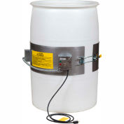 EXPO ENGINEERED Plastic Electric Drum Heater with Thermostat Control- 800 Watts - 0 to 165°F