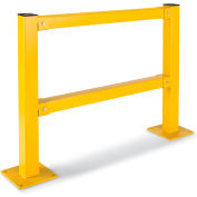 Relius Solutions Impact-Resistant Protective Rails - 4'L Lift-Out Rail
