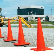 """12"""" Traffic Cone, Orange, 1-1/2 lb"""