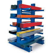 Relius Solutions Complete Cantilever Rack With Double-Sided Column - 8'H - Add-On