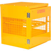 "Relius Solutions Cylinder Storage Cabinet - 33X38X37"" - 4-Cylinder Capacity - Horizontal Cabinet"