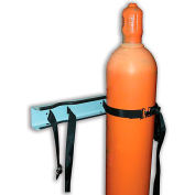 Relius Solutions Stationary Cylinder Holder - 2-Cylinder Capacity - Wall-Mount