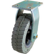 "Albion 6"" Pneumatic Wheel Casters - 2-3/4x3-3/4"" Top Plate w/ 1-3/4x2-7/8"" or 1-3/4x3"" Rigid"