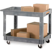 "Standard Economical Tray-Shelf Carts - 36""Wx24""D Shelf"