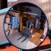 """Relius Solutions Convex Safety Mirrors - Glass - 12"""" Dia. - Indoor"""