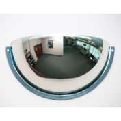 Relius Solutions Panoramic Dome Mirror - Half Dome - Acrylic - 36""