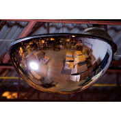 """Relius Solutions Panoramic Dome Mirror - Full Dome - Acrylic - 48"""""""
