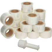 "Banding Film, 3"" x 1000', 80 Gauge, Cast - Pkg Qty 18"