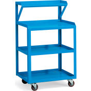 "Relius Solutions Utility Cart With Instrument Shelf - 39""H"