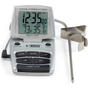 CDN DTTC-S - Combo Probe Thermometer, Timer & Clock - Silver