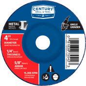 "Century Drill  75542  Depressed Center Grinding Wheel 4"" x 5/8""  Type 27 Aluminum Oxide"