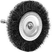 "Century Drill 76443 Drill Radial Wire Brush 4"" Dia. Steel Crimped"