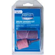"Century Drill Drum Sander 4pc Kit 1'' x 3/4"" - 1/4"" Shank"