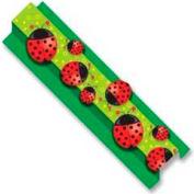 "Carson-Dellosa Publishing Pop-It Border, Ladybugs, 3"" x 24', 8 Strips/Pack"