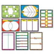 Carson-Dellosa® Graphic Organizers Bulletin Board Set, 8 Pieces/Set