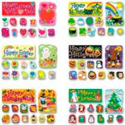 Carson-Dellosa® Holidays Bulletin Board Set, 72 Pieces/Set