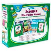 Carson-Dellosa® Grades K-1 Science File Folder Games, 16 Games/Set