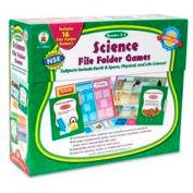 Carson-Dellosa® Grades 2-3 Science File Folder Games, 16 Games/Set