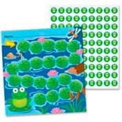 Carson-Dellosa Mini Incentive Chart, Frog, Assorted, 30/Pack