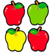 "Carson-Dellosa® Apple Cut-Outs, 4-1/2"" x 5-1/2"", 3 Colors, 36 Pieces/Pack"