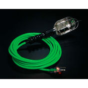 Pro Glo® Trouble Light With 25 ft Cord, Grounded Handle Outlet, 16/3, Green