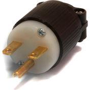 Century® Straight Blade Plug NEMA 6-15P, 15A, 250V