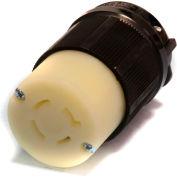Century® Twistlock Connector NEMA L15-20R, 20A, 250V