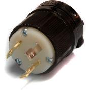 Century® Twistlock Plug NEMA L5-30P, 30A, 125V