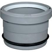 "InnoFlue® Appliance Adaptor Polyvinyl Chloride to Polypropylene W/Gasket ISAGL0303, 3"""