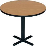 "Correll Restaurant Table - Round - 24"" x 24"" x 29"" - Medium Oak"