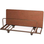 "Table Truck, 72""L  x 28""W - Dark Brown"