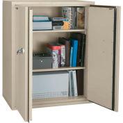 "FireKing® Fireproof Storage Cabinet, 36""Wx19-1/4""Dx44""H, Arctic White, Assembled"