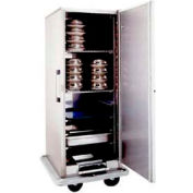 Space-Saver Convertible Carter™ Banquet Cart, Single Door, Pans Or Covered Plates.