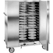 "Economy Carter™ Banquet Cabinet, Single Door, (120) Covered Plates Up To 10-1/2"" Dia."