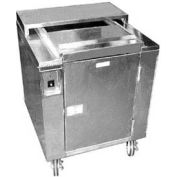 "Heated Dish Storage Cart, Insulated, Rotary Design, Enclosed, For 160- 9"" Max Dia Plates"