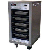"""Holding Cabinet, Heated, Doorless, Stackable, 1/2 Size, Holds (4)12""""X20X2.5 Pans"""