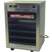 """Holding Cabinet, Heated, Doorless, Stackable, 1/2 Size, Holds (5)18""""X26"""" Sheet Pans"""
