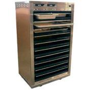 "Holding Cabinet, Heated, Doorless, Full Size, (10)18""X26"" Sheet Pans"